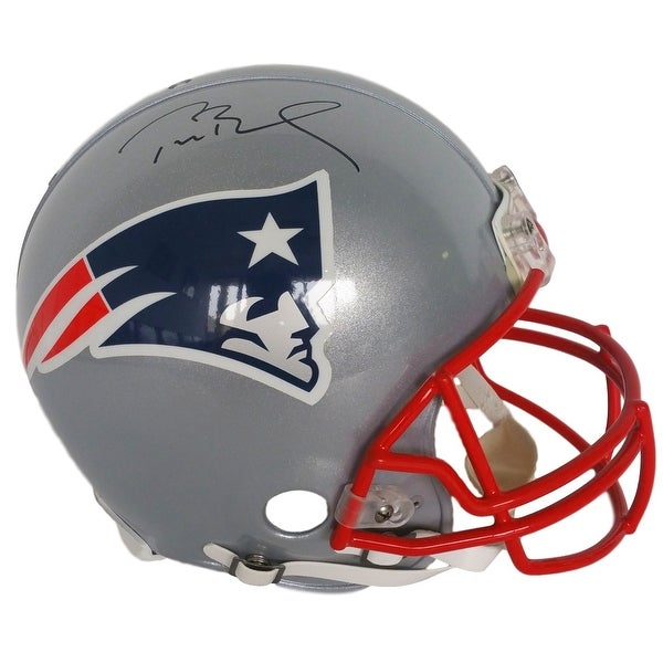 Tom Brady Signed New England Patriots Full Size Authentic Helmet Tristar