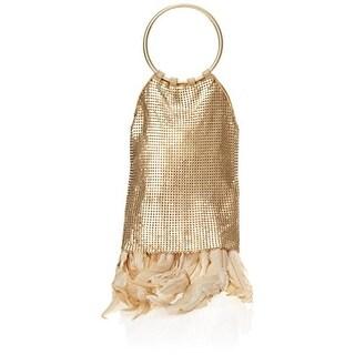Whiting & Davis Womens Metal Mesh Evening Handbag - Small