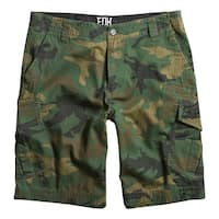 Fox 2015 Kid's Slambozo Cargo Short - Camo - 10603 - Green Camo