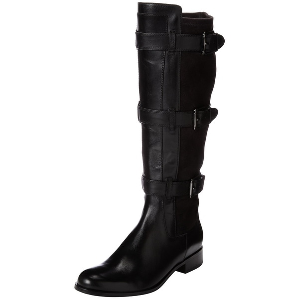 Cole Haan NEW Black Women Shoe Size 5.5M Avalon Tall Leather Boot