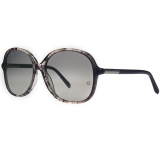 Mont Blanc MB 413S/S 20B Grey Tortoise Oversized Sunglasses