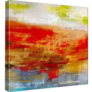 """PTM Images 9-98882  PTM Canvas Collection 12"""" x 12"""" - """"Measure of Vibration"""" Giclee Abstract Art Print on Canvas"""