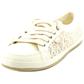 Rocket Dog Willie Youth Round Toe Canvas Ivory Sneakers