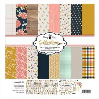"Fancy Pants Designs Collection Kit 12""X12""-Golden Days"
