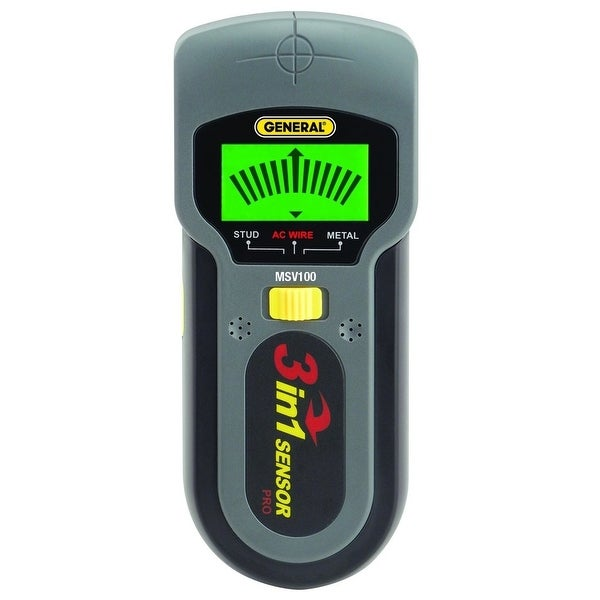General Tools MSV100 Stud/Metal and Voltage Detector