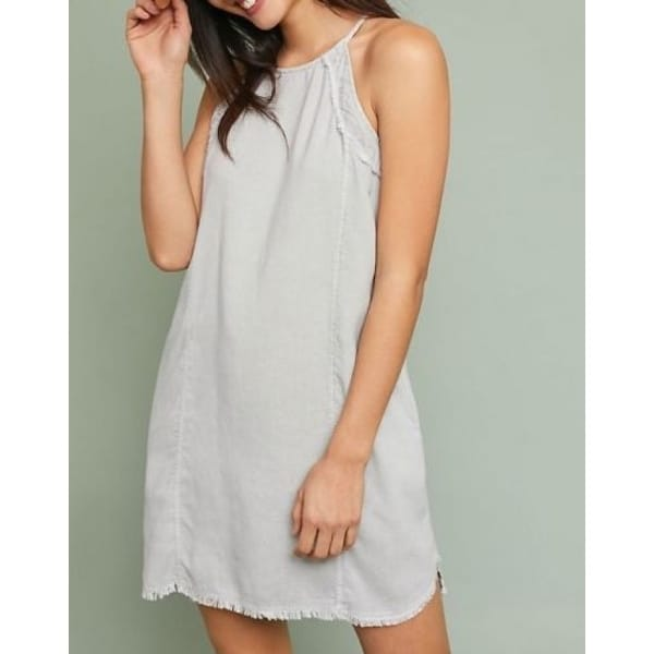 91f5b27072a6 Shop Anthropologie Cloth & Stone Halter Dress - Free Shipping Today ...