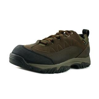 Timberland Bridgeton Low Men  Round Toe Leather Brown Hiking Shoe