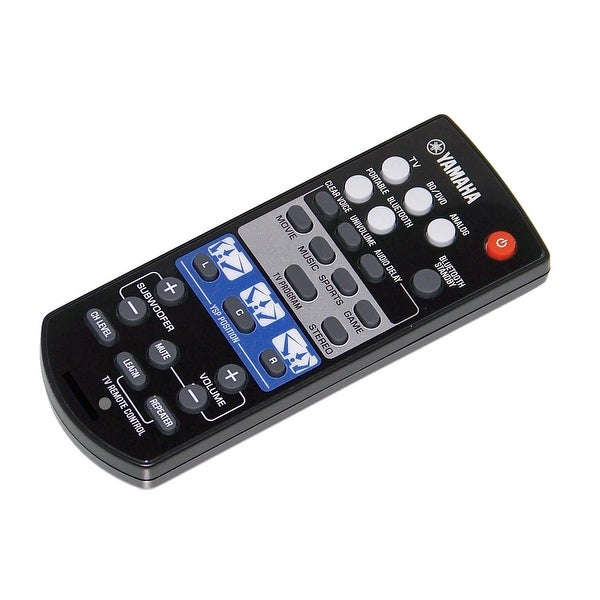 OEM Yamaha Remote Control Originally Shipped With: YSP-1400, YSP1400, YSP-1400BL, YSP1400BL