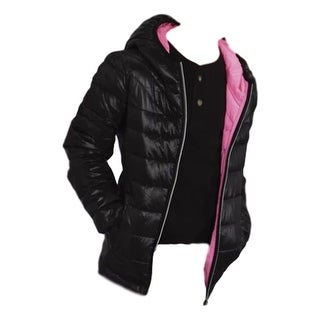 Roper Western Jacket Girls Cute Quilted Fun Black 03-298-0693-0481 BL