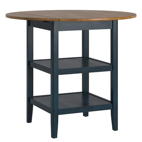 Eleanor Drop Leaf Round Counter Height Table by iNSPIRE Q Classic