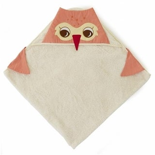 Little Acorn F13T08 Baby Orange Owl Bath Wrap