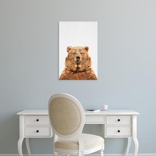 Easy Art Prints Tai Prints's 'Bear' Premium Canvas Art
