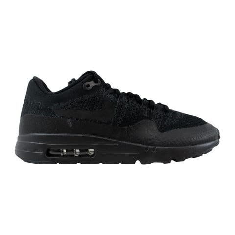 bfdedeb5247b Nike Air Max 1 Ultra Flyknit Black Black-Anthracite 856958-001 Men s