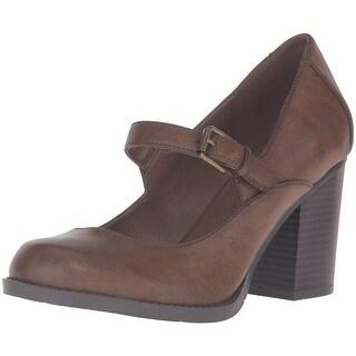 MIA Womens Susy Closed Toe Ankle Strap