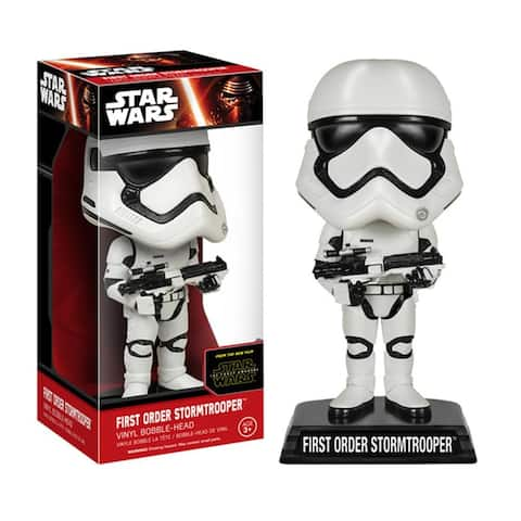 "Star Wars The Force Awakens 7"" Bobble Head First Order Stormtrooper - Multi"