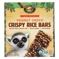 Envirokidz Crispy Rice Bars - Peanut Choco - Case of 6 - 6 oz.