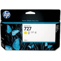 HP 727 130-ml Yellow DesignJet Ink Cartridge (B3P21A) (Single Pack)