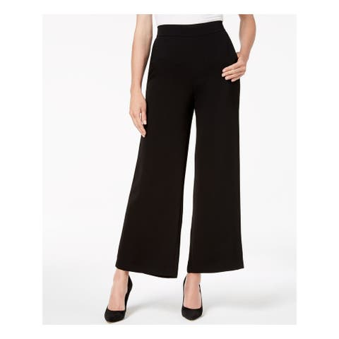 NINE WEST Womens Black Flare Formal Pants Size XS