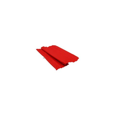 Roadpro r 1818l 18x18 red log hauler s flag with sewn-in metal hanger