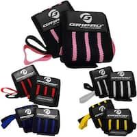 "Gripad 12"" x 3"" Weight Lifting Support Wrist Wraps"