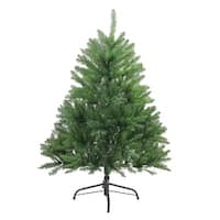 4' Northern Pine Medium Artificial Christmas Tree - Unlit - Green