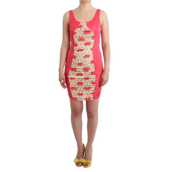 02c6d8f4a0d43 Shop GF Ferre Multicolor Bodycon Viscose Women's Dress - Free ...