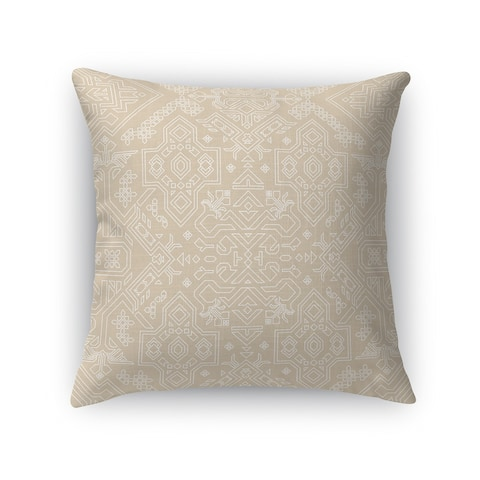 MAMLUK BEIGE Accent Pillow By Kavka Designs