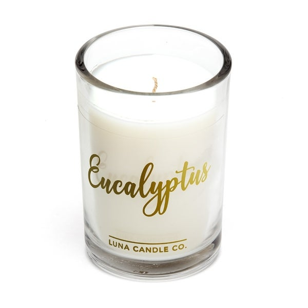 Strong Scented, Eucalyptus Natural Soy Candle, 6Oz. USA