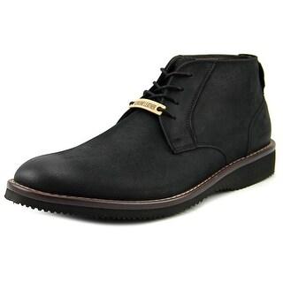 Dockers Merritt Men Round Toe Leather Black Boot