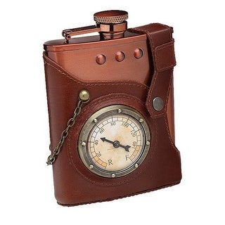 Captain Jules' Everlasting Steampunk Flask - Multi