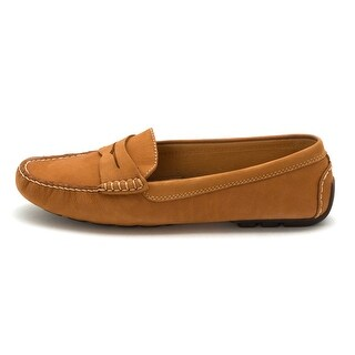 Ralph Lauren Womens CAMILA Leather Closed Toe