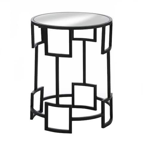 "Modern Round Side Table 16x16x19.75"""