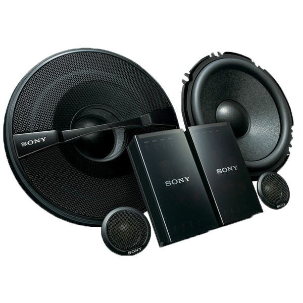 "Sony XS-GS1621C GS-Series 6-1/2"" 2-Way Component Speakers - Pair"
