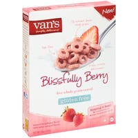 Van's Natural Foods Gluten Free Cereals - Blissfully Berry - Case of 6 - 10 oz.