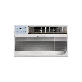Keystone KSTAT10-2C 10,000 BTU 230V Through-the-Wall Air Conditioner with Follow Me LCD Remote Contr - White