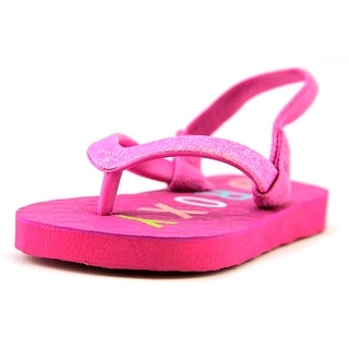 Roxy TW Puffin Toddler Open-Toe Synthetic Slingback Sandal