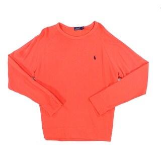 Polo Ralph Lauren NEW Red Mens Size 2XL Crewneck Longsleeve Sweater