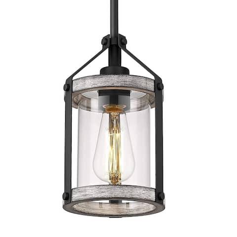 Vintage pendant lights kitchen island wood