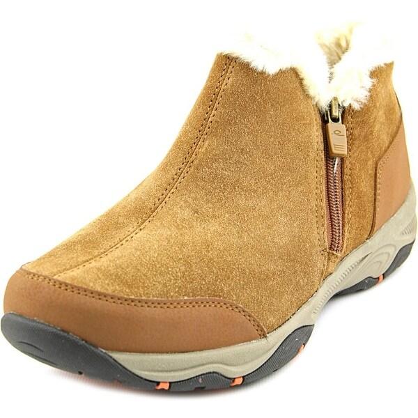 Easy Spirit Prisco Women  Round Toe Suede Brown Winter Boot