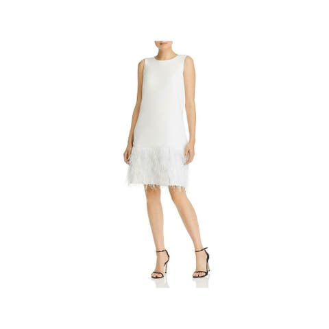 SAM EDELMAN Ivory Sleeveless Above The Knee Dress 12