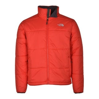 The North Face Sangfroid Insulated Puffer Jacket Bright Red Full Zippered