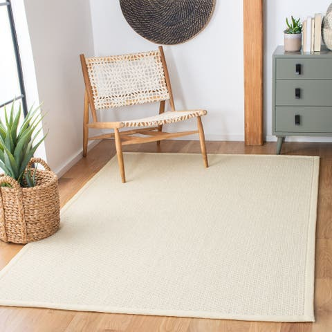 Safavieh Hand-Knotted Palm Beach Laure Contemporary Wool Rug