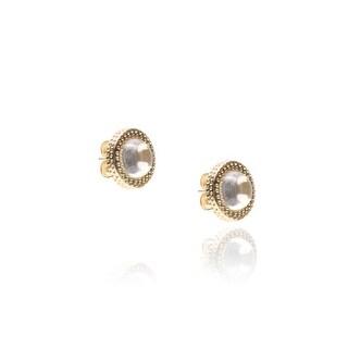 Affair Earrings in White Quartz
