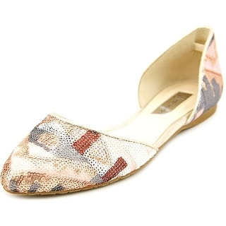INC International Concepts Crescente 6 Women Pointed Toe Synthetic Bronze Flats