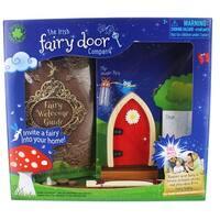 Irish Fairy Door Playset: Red Door - multi