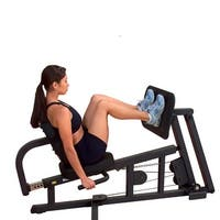 Sold-Solid Premium Leg Press for G-Series Gyms - Black