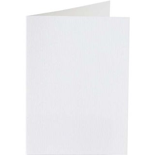 Pearly White - Papicolor A6 Folded Cards 50/Pkg