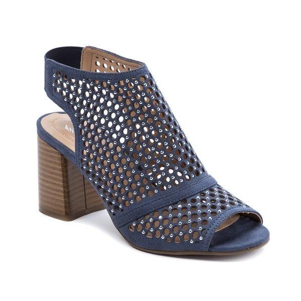 Andrew Geller Edee Women's Heels Blue