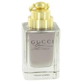 Gucci Made to Measure by Gucci Eau De Toilette Spray (Tester) 3 oz - Men