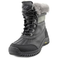 Ugg Australia Adirondack II Women  Round Toe Leather Black Winter Boot